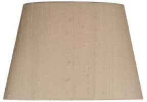 Rex Tapered Oval Silk 13 Inch Lamp Shade Colour Choice