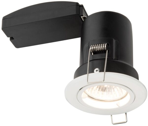 Shield Plus White 90 Minute Fire Rated GU10 Fixed Downlight