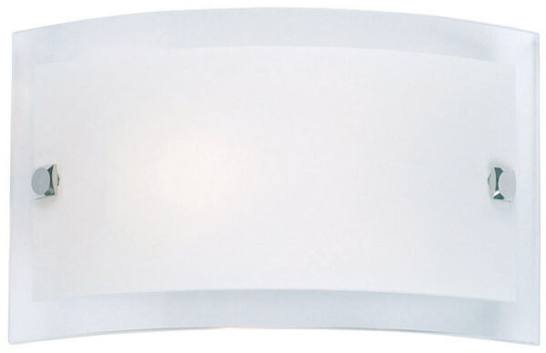 Switched Half Round Glass Wall Washer Light