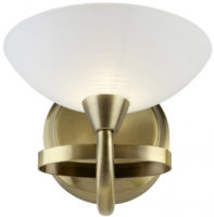 Cagney Modern Antique Brass Single Wall Light