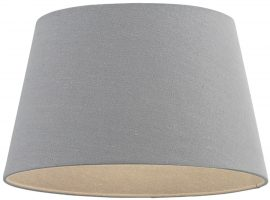 Cici Grey Fabric 10 Inch Small Table Lamp Shade