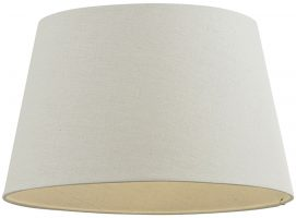 Cici Ivory 16 Inch Tapered Ceiling Table Lamp Shade