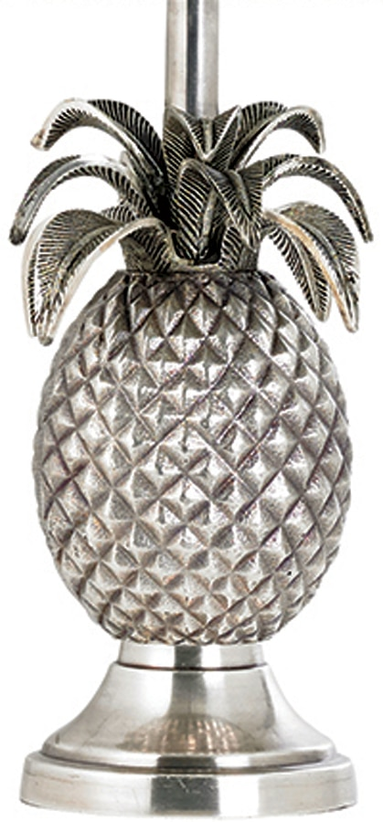 Brand-new Pewter Pinapple Table Lamp Base Only EH-PINEAPPLE-TL FG86