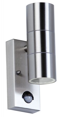 Canon Stainless Steel Outdoor Wall Up And Down PIR Sensor Light