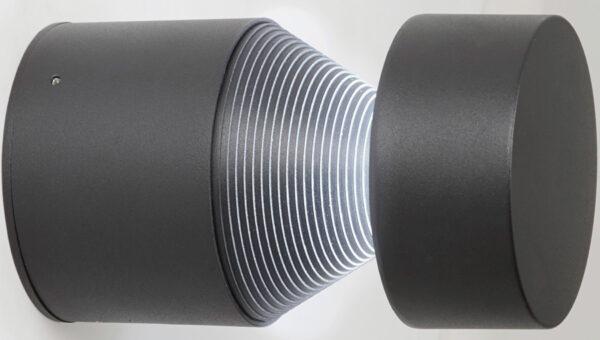 Modern Outdoor LED Wall Washer Light Matt Grey