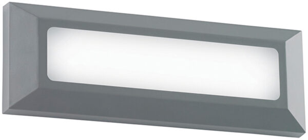 Severus Grey Rust Proof Letterbox Outdoor Path Light 3W LED