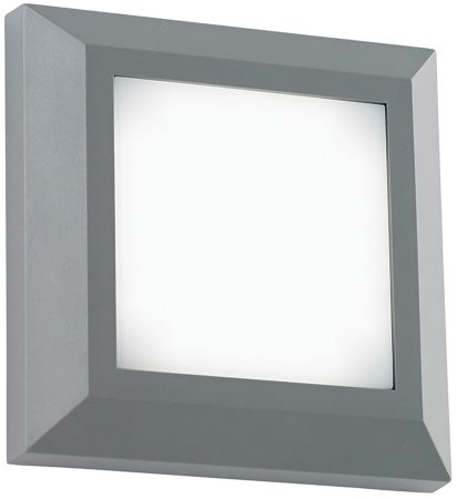 Severus Grey Rust Proof Square Outdoor Path Light 3W LED