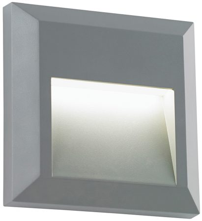 Severus Grey Rust Proof Angled Square Path Light 1W LED