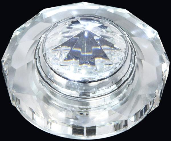 Recessed IP65 LED Crystal Bathroom Downlight