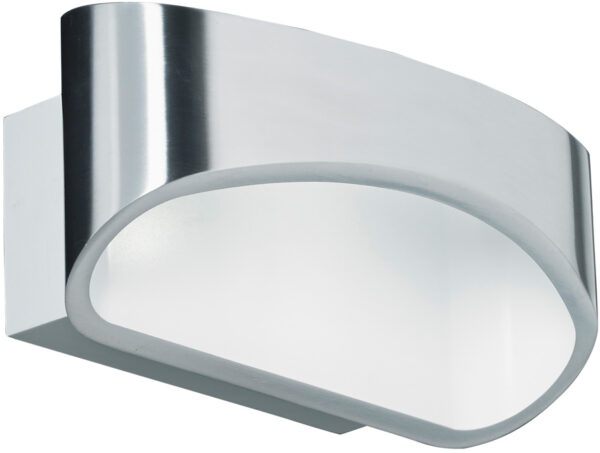 Johnson Contemporary Chrome LED Wall Washer Light