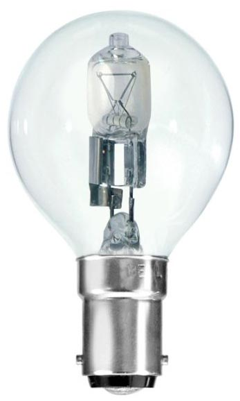 Bell 10 Pack Energy Saving 18w SBC Clear Golf Ball Lamps