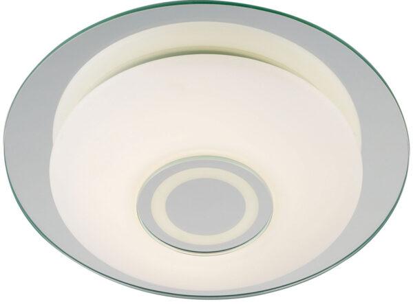 Mirror Glass Flush 320mm LED Bathroom Light