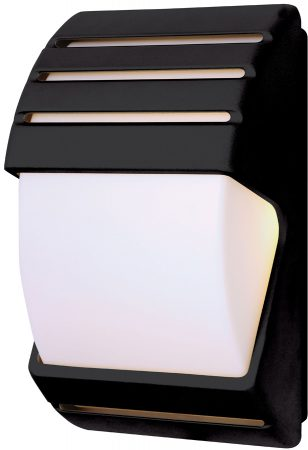Black Low Energy Dusk Till Dawn Outdoor Wall Light EL 40022