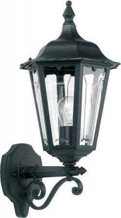 Traditional Black Finish Outdoor Wall Lantern