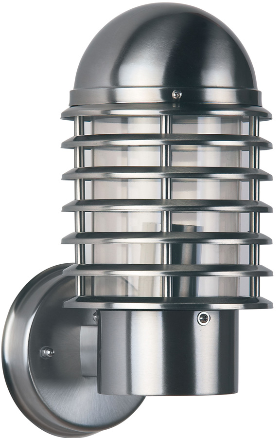 Endon Louvre Outdoor Wall Light 304 Stainless Steel IP44