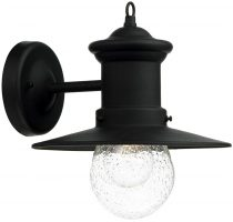 Dar Sedgewick Traditional Outdoor Wall Light Black