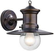 Dar Sedgewick Traditional Outdoor Wall Light Bronze