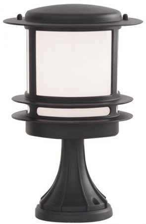Stroud Small Black Finish IP44 Outdoor Post Top Light