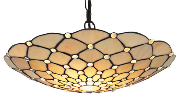 Raindrop Clear Tiffany Ceiling Pendant Light Shade