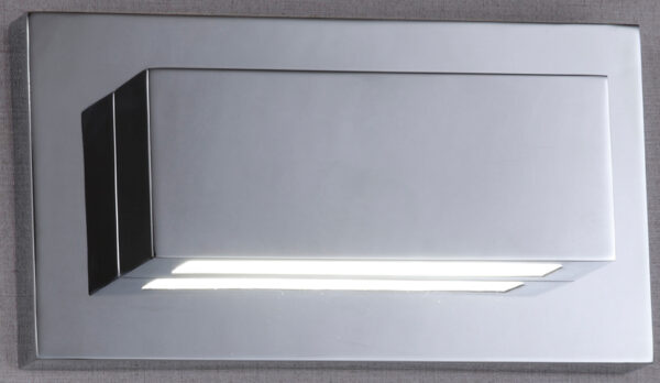 Modern Chrome Up And Down LED Wall Washer Light
