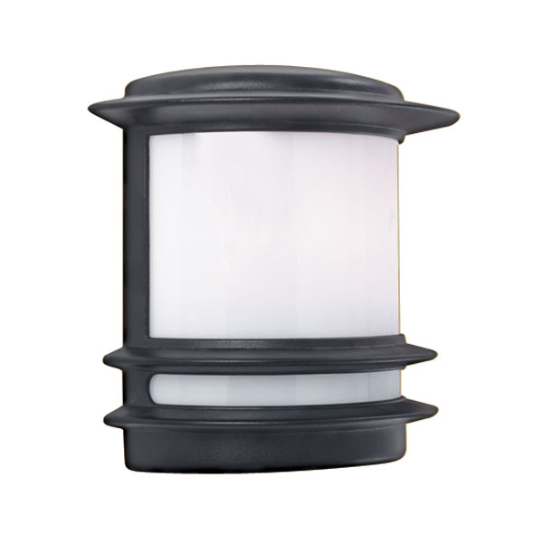 Black half round flush fitting outdoor wall light 1812 black half round flush fitting outdoor wall light aloadofball Gallery