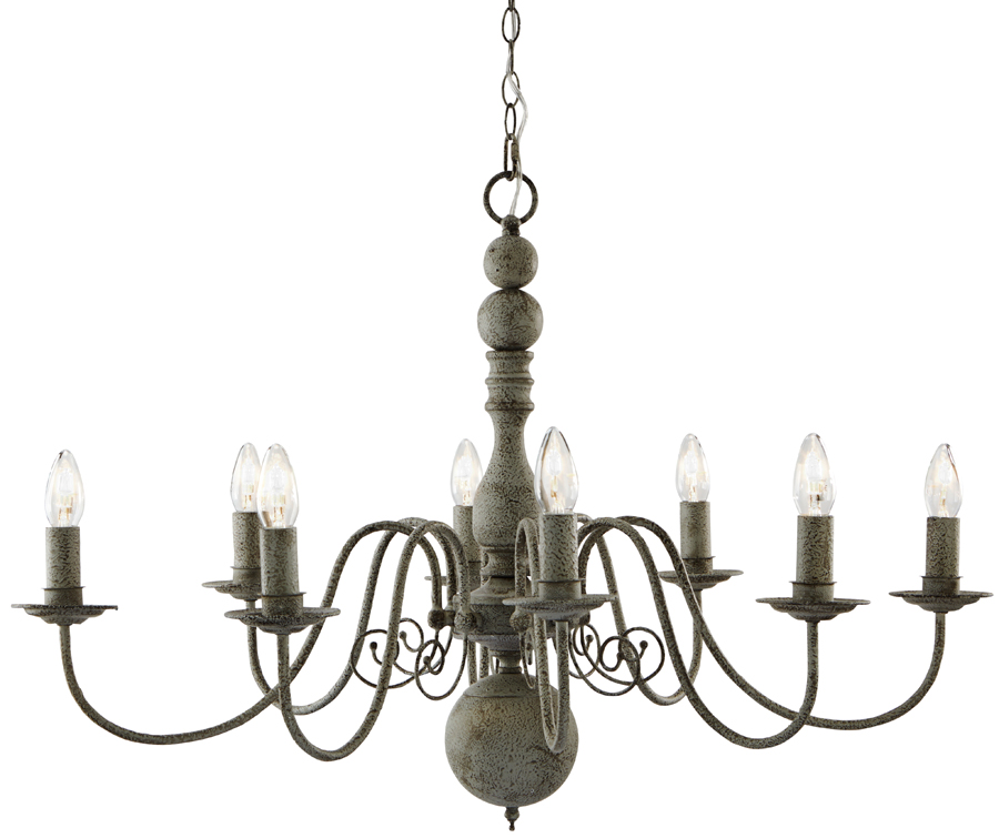 Greythorne steel grey traditional 8 light chandelier 2268 8gy greythorne steel grey traditional 8 light chandelier aloadofball Image collections