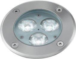 Stainless Steel LED In Ground Walkover Light