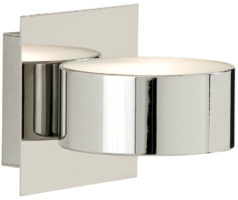 Modern Chrome Up And Down Wall Washer Light