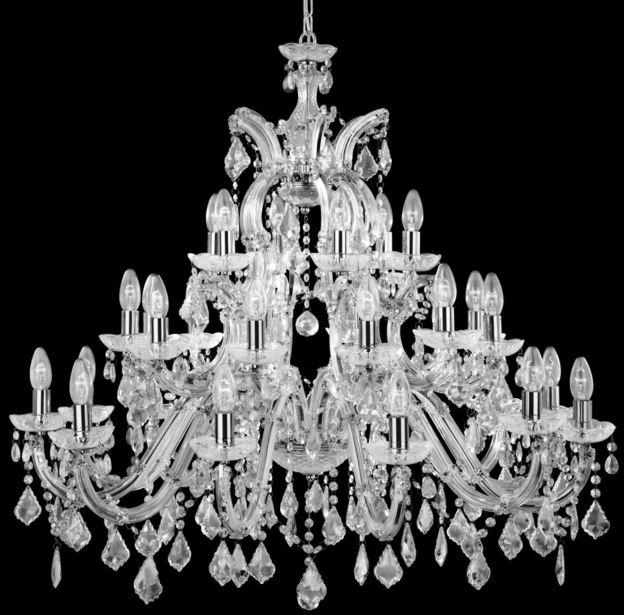 Very Large Marie Therese 30 Light Crystal Chandelier 3314-30:Very Large Marie Therese 30 Light Crystal Chandelier,Lighting