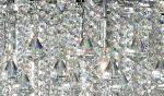 Dorchester Large Chrome 7 Light Modern Crystal Chandelier