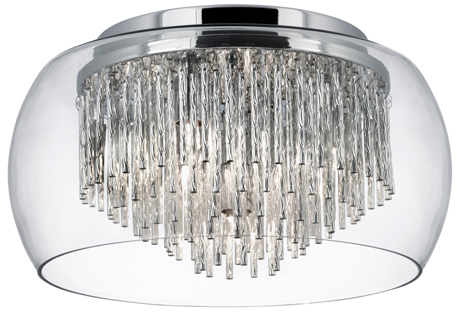 Curva 4 lamp chrome and glass flush ceiling light 4624 4cc curva 4 lamp chrome and glass flush ceiling light mozeypictures Choice Image