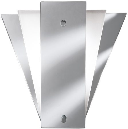 Classic Mirror Chrome Art Deco Style Wall Light