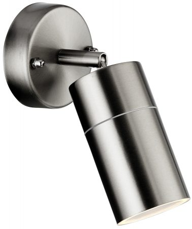 Modern Stainless Steel Directional Outdoor Wall Spotlight