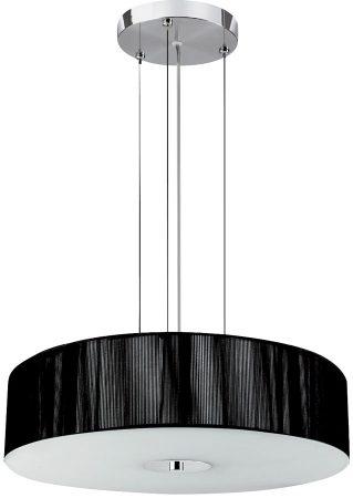 Melita Modern Black String 3 Light Ceiling Pendant
