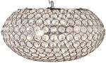 Chantilly Chrome And Crystal 3 Light Pendant