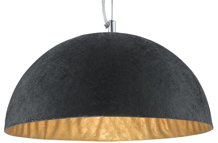 Anishi domed black and gold ceiling light pendant 8149go anishi domed black and gold ceiling light pendant aloadofball Choice Image