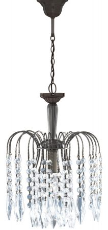 Waterfall Antique Brass Crystal Pendant Light Special Offer
