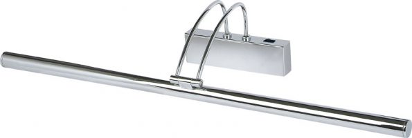 Slimline 68cm Polished Chrome Switched Low Energy Picture Light