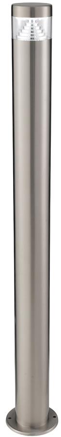 Modern Stainless Steel 900mm LED Garden Bollard