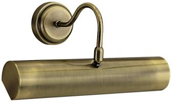 Antique Brass 300mm Switched Picture Light