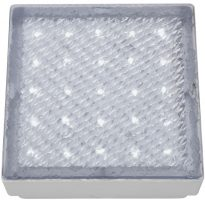 Pure White LED Ip68 Recessed Square Walkover Light