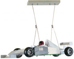 Monaco Childs Bedroom F1 Racing Car Ceiling Light