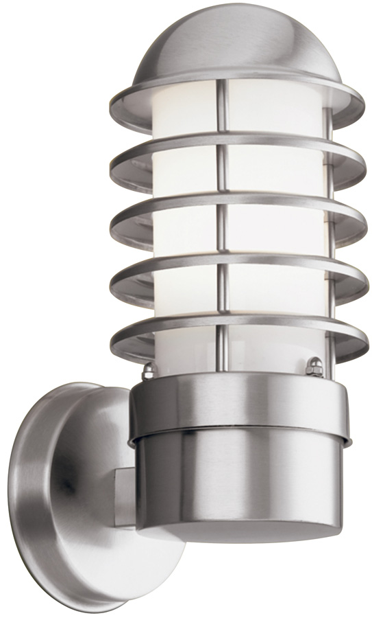 Maple low energy stainless steel outdoor wall light 051 for Low power outdoor lights