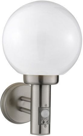 Stainless Steel Modern Outdoor PIR Globe Light