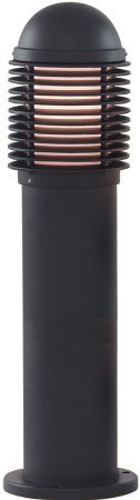 Traditional Black 450mm Outdoor Bollard Light Post