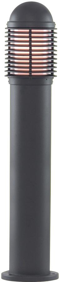 Traditional Black 730mm Outdoor Bollard Light Post