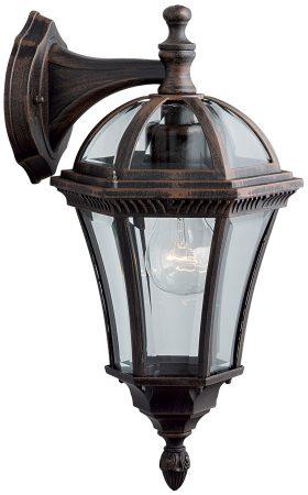 Capri Rustic Outdoor Wall Downward Lantern