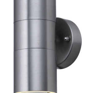 Woodstock Stainless Up And Down Outdoor Wall Spot Light