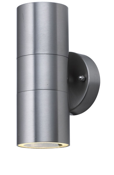 Woodstock stainless up and down outdoor wall spot light 5008 2 led woodstock stainless up and down outdoor wall spot light aloadofball Choice Image