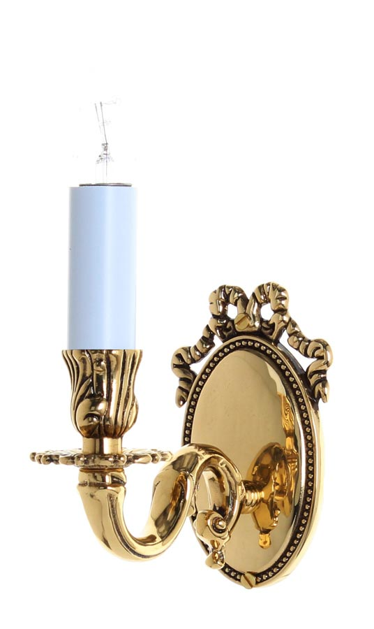 Sandringham High Quality Solid Brass Single Wall Light